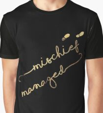 Mischief Managed (black) Graphic T-Shirt