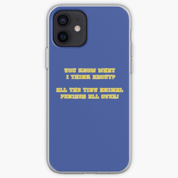 You know what i think about? - Kodiak Jack iPhone Soft Case