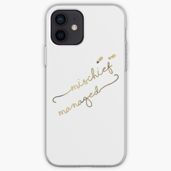 Mischief Managed iPhone Soft Case