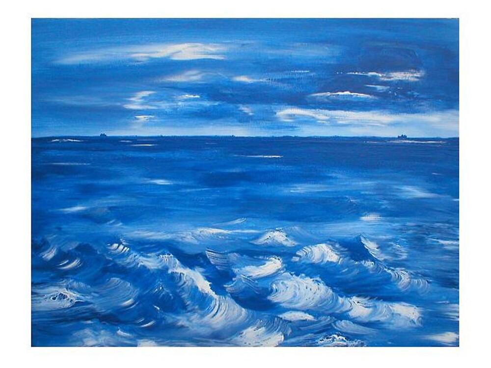 Blue Sea by Ginger Lovellette