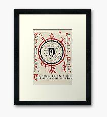 Mysterium Xarxes Framed Print