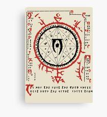 Mysterium Xarxes Canvas Print