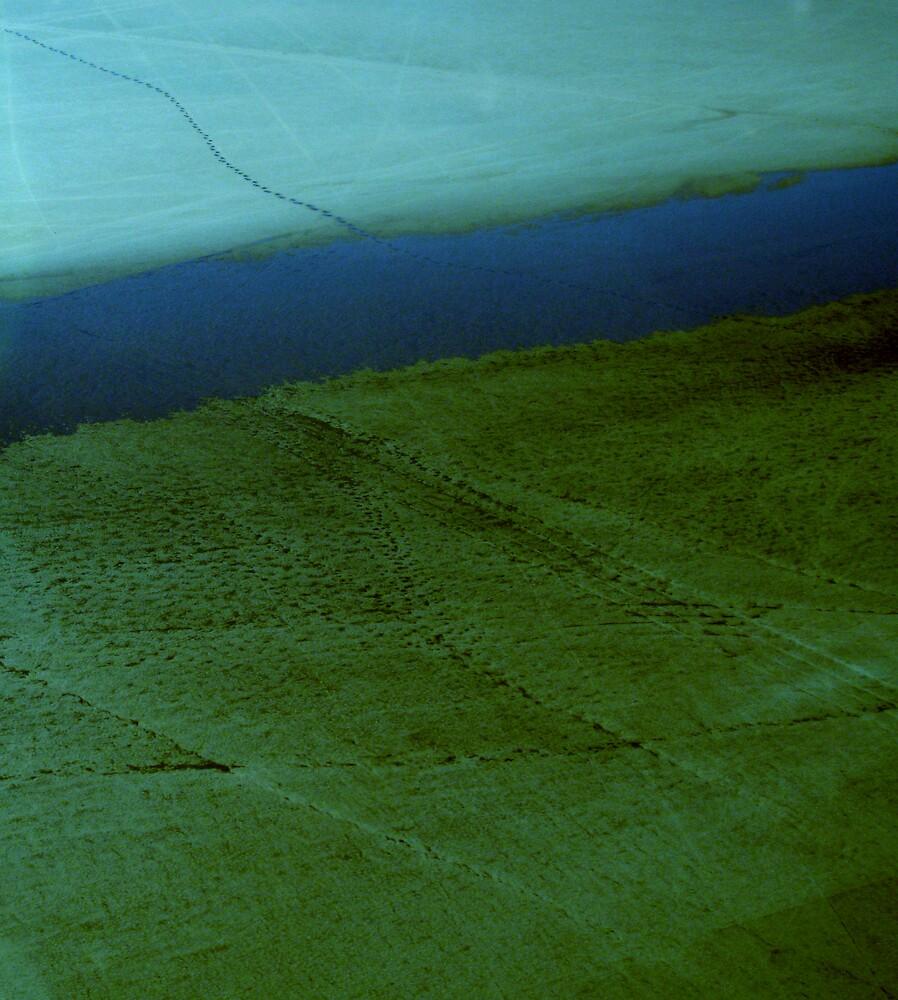 footprints in C Minor  by KimOZ