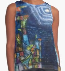 The moon of the identity Contrast Tank