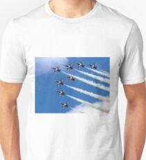 Korean Black Eagles 8-ship Chevron T-Shirt