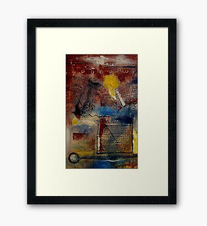 Raw Emotions II Framed Print