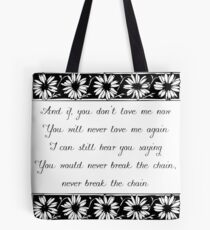The Chain - Fleetwood Mac Tote Bag