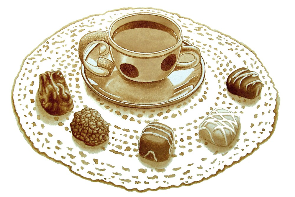 Sicilian Espresso and Chocolate Lace by joeyartist