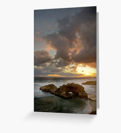 London Bridge Sunset Greeting Card