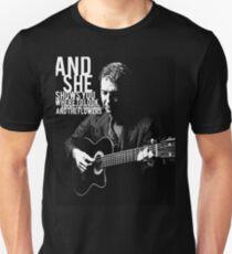 Leonard Cohen Engraving Tribute T-Shirt