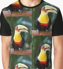 Red Breasted Toucan at Iguassu, Brazil  Graphic T-Shirt