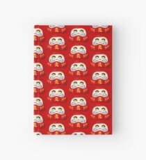 Daruma - Print for otaku and japanese enthusiasts Hardcover Journal