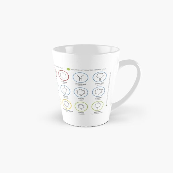 Heterocycles in Organic Chemistry Tall Mug