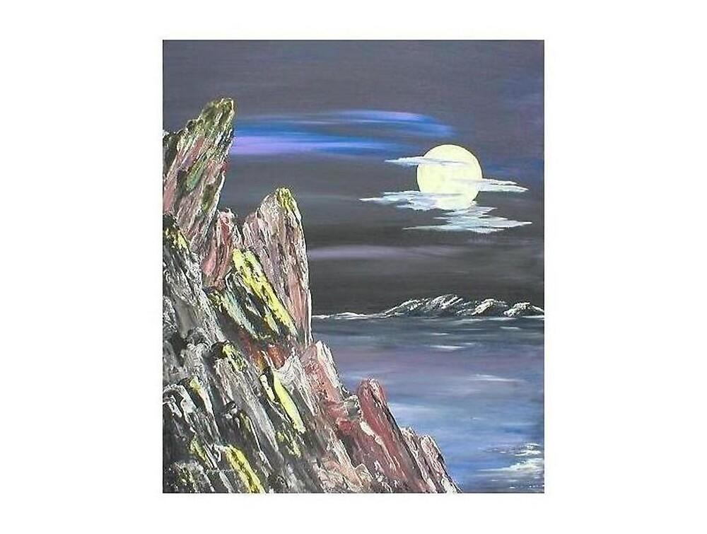 Rocks on the Shore by Ginger Lovellette