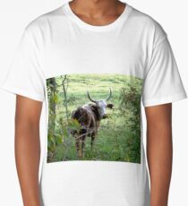 How Now Brown Cow Long T-Shirt