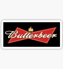 Butterbeer Sticker Sticker