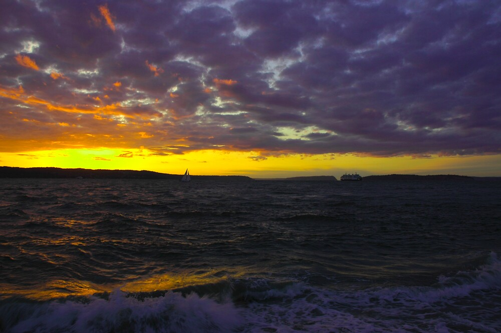 Mulkiteo Sunset by photomeister