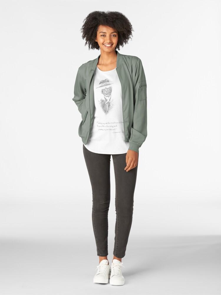 Alternative Ansicht von LEONARD COHEN Premium Rundhals-Shirt