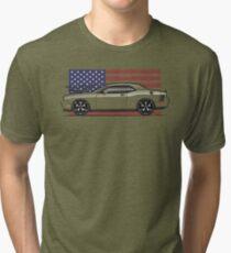 09-17 challenger Multi-Color body Option Tri-blend T-Shirt