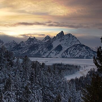 Snake River Overlook - January by CameraView