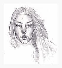 Portrait - Aina Photographic Print