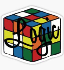 Logic Cube Sticker