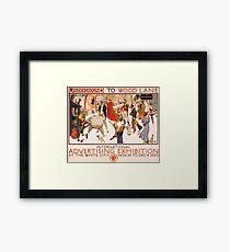 'London Underground' Vintage Poster (Reproduction) Framed Print