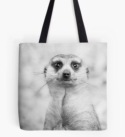 Meerkat portrait Tote Bag