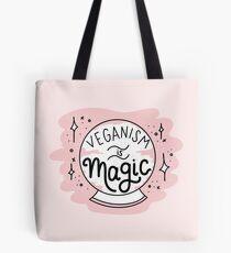 VEGANISM IS MAGIC Tote Bag