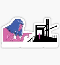 Joi Runner Sticker
