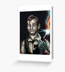 Peter Venkman Greeting Card