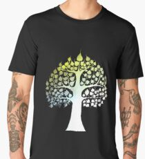 Bodhi Tree buddha enlightenment Men's Premium T-Shirt