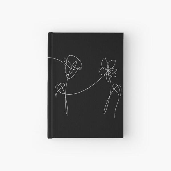 BTS FOUR FLOWERS WHITE Hardcover Journal