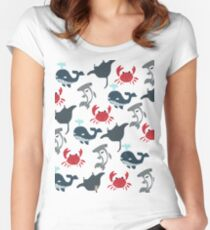 Aquatic Parade (Updated) Women's Fitted Scoop T-Shirt