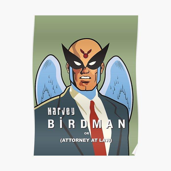 Harvey Birdman Poster