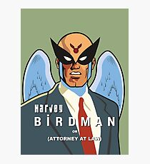 Harvey Birdman Photographic Print