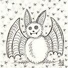 Silver Bat by nightsparklies