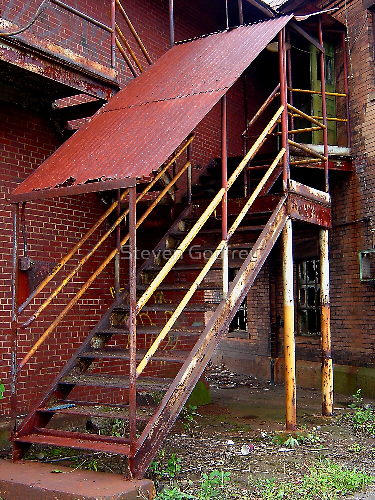 Mill Stairs #2 by Steven Godfrey