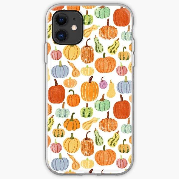 Autumn Pumpkins iPhone Soft Case