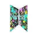 BTS Paint Splat Logo von Infirez