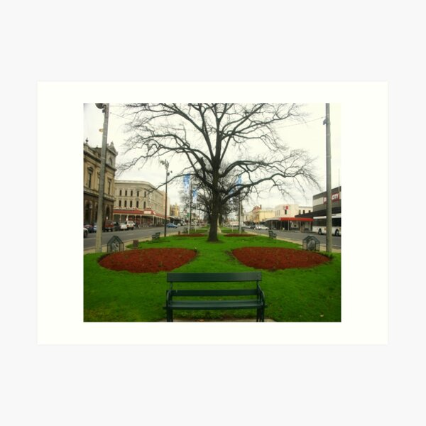 City of Ballarat - Victoria - Australia  Art Print