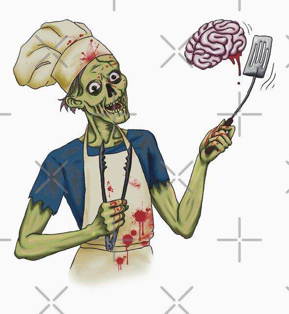 Bbq Zombie by Christina Lorenz