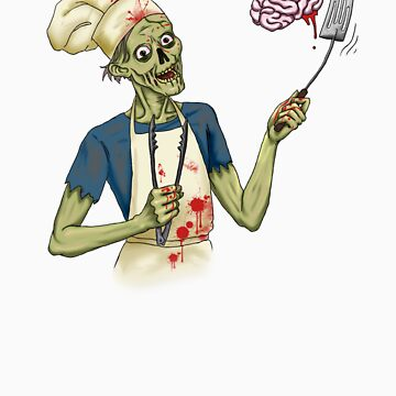 Bbq Zombie by Originalnilson