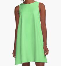color light green A-Line Dress
