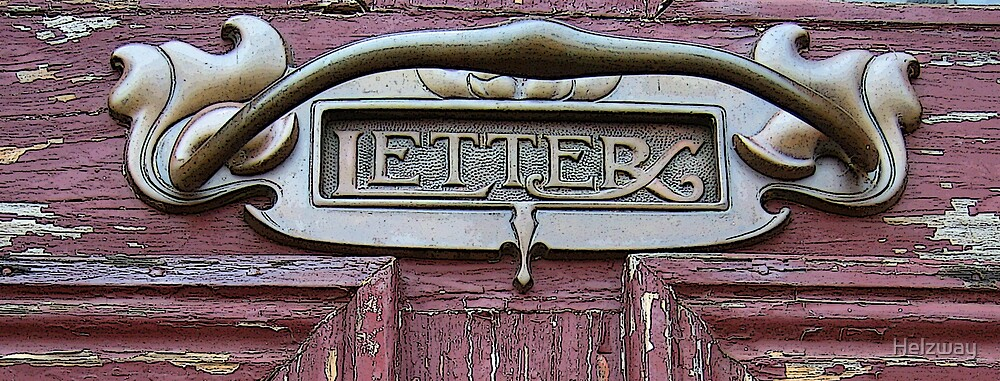 post box letter by Helzway