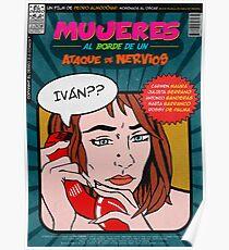 Mujeres al borde de un ataque de nervios (Pedro Almodóvar) Poster