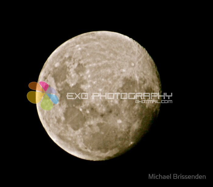 The Moon by Michael Brissenden
