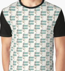 F illustrated alphabet letter Graphic T-Shirt