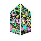 BTS ~ Armee Paint Splat Logo von Infirez