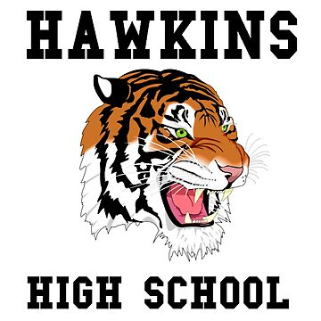 HAWKINS HIGH SCHOOL Team Spirit! (Stranger Things) by powerdinoninja